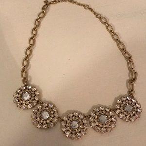 J. Crew gold statement necklace